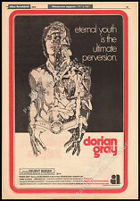 DORIAN GRAY__Original 1970 Trade AD promo / poster__HELMUT BERGER__HERBERT LOM