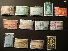 Tonga 1953.#100-113.MLH