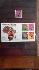 Album de timbres et 21 enveloppes 1èr jour REPUBLIQUE POPULAIRE DU CONGO