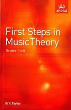 First Steps In Music Theory ABRSM Grade 1 to 5 - Same Day P+P