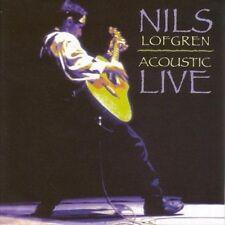 Nils Lofgren  Acoustic Live  New CD Sealed Bruce Springsteen Guitar
