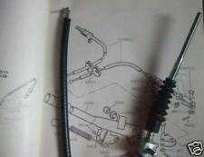 (Pair) TRIUMPH TR4A TR5 TR6 Rear Handbrake Cables x2     Cable