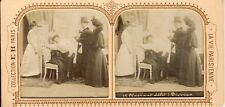 STEREOSCOPIE Stereoview E..H. PARIS DIVORCE