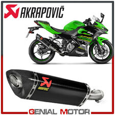 Exhaust Carbon Muffler Akrapovic for Kawasaki NINJA 400 2018 > 2019