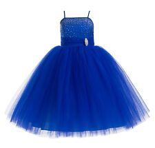 Wedding Tulle tutu Flower Girl Dresses Pageant Dresses Ball Gowns Toddler Dress