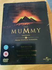 THE MUMMY LEGENDS 5 DISC DVD BOX SET good condition