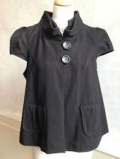 Women's Wool Blend Medium Knit Button Waist Length Jumpers & Cardigans