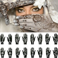 Tattoo Stencils Henna Template Sticker Temporary Hand  DIY Body Art