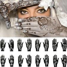 Tattoo Stencils Henna Template Sticker Temporary Hand  DIY Body Art