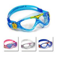 83e729cc5f2 Aqua Sphere Vista Junior Youth Swimming Goggles Masks Childrens Kids Swim  Goggle