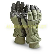US Military Nomex Air Force Cold Weather Intermediate Flyers Gloves HAU-15/P EXC