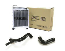 FLETCHER RADIATOR CLASSIC MINI COOPER S 1275cc 1300 TOP BOTTOM HOSES BLACK Y3271