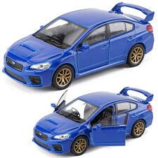 Subaru Impreza WRX STI 1:36 Scale Model Car Diecast Toy Vehicle Gift Kids Blue