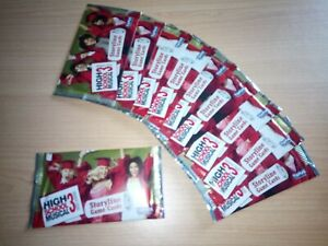 Lot Of 10X High School Musical 3 Disney Topps Card Packs Booster