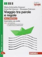 VIAGGIO TRA PAROLE E REGOLE, GRIGNANI DEL VISCO, ZANICHELLI, 9788808061379