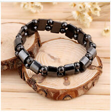 Black Magnetic Hematite Bracelet Fashion Pain Therapy Arthritis88