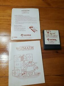 The Wizard Of IDs Wiz Math for ColecoVision * Complete w/ Manual & Card * RARE!!