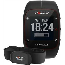 Polar M400 Fitness Watch With GPS And H7 Heart Rate Monitor (Black)
