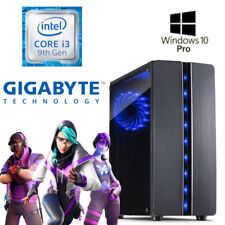 JEU PC-Intel i3 9100 - 8 Go RAM - 240 Go SSD-win10-GAMER - 4k Gue