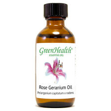 2 fl oz Rose Geranium Essential Oil (100% Pure & Natural) - GreenHealth