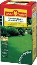 Wolf-Garten Premium-Rasen Schatten und Sonne LP 100 Rasensamen Supra 2kg Gras