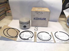 New Kohler Piston Kit 47-874-10  with Rings .030 12HP   K301          KS/11