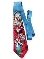 7 Dwarfs of Snow White Tie Dopey Doc Sneez Grumpy Bashfull Happy Sleepy Disney B