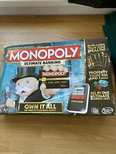 Hasbro Monopoly Ultimate Banking Board Game complete