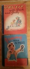 Jimmy Wins a Prize & Going Away With Jack and Judy (copyright 1946) (2 books)
