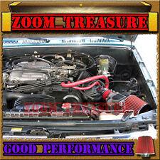 RED 1988-1995/88-95 TOYOTA PICKUP/4RUNNER 3.0 3.0L V6 AIR INTAKE KIT S