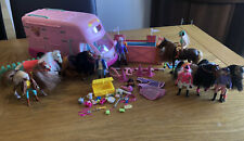 More details for vintage toys my beautiful horses show trailer and accessories (schleich similar)