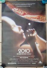 Vintage 1984 Scifi Movie 2010 A Space Odyssey Sequel Scheider One Sheet Poster