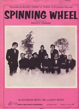 Sheet Music Soundtrack   Spinning Wheel  By Blood, Sweat And Tears