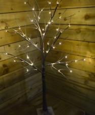 120cm Christmas lights Snowy White Twig/Branch Tree/48 LED warm Tree/Wedding