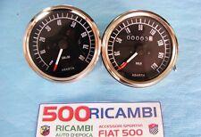 FIAT 500 F/L/R KIT CONTAGIRI + CONTACHILOMETRI ABARTH STRUMENTI CRUSCOTTO NERI