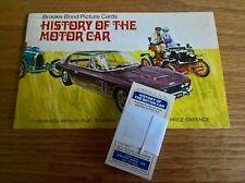 Brooke Bond tea cards: History of the Motor Car loose set + empty unused album