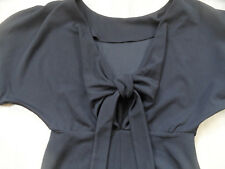 ASOS stylisches Kleid am Rücken offen m. Schleife schwarz Gr. 36 NEU