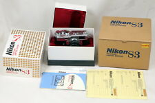 Nikon S3 2000 Limited Edition 35mm Rangefinder Film Camera Complete Set - BNIB