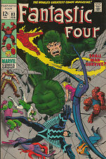 Fantastic Four #83 Black Bolt and The Inhumans VF+ to NM- (8.5-9.0) Marvel Key!