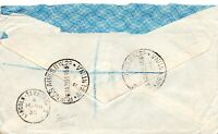 1935 Lincoln - Tamworth SC on Argentina Registered Cover