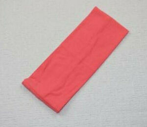 COTTON WIDE HEADBANDS 3 3/4 WIDE, GREAT NEW SIZE, 95% COTTON, SOFT, STRETCHY