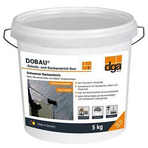 Schutzanstrich Dachanstrich Bitumenanstrich Dachlack Isolieranstrich 5-10 kg