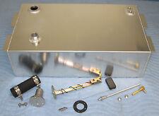 53-56 Ford 1/2 Ton Pickup 15 Gallon Aluminum Fuel Gas Tank Install Kit Bed Fill