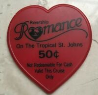 Rivership Romance on the Tropical St Johns 50 Cents Cruise Token
