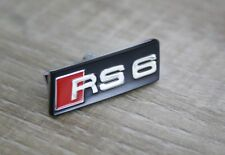 Plakette Original Audi RS6 Tuning Schriftzug für Lenkrad Emblem NEU!
