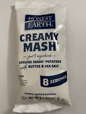 Honest Earth Instant Mashed Potatoes Real Idaho Potatoes 1 Pack New 6.4 Oz.