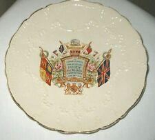 Queen Victoria Diamond Jubilee Commemorative Plate 1837-1897 Hand Painted