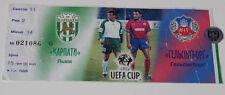Ticket for collectors EC Karpati Lviv Helsingborgs IF 1999 Ukraine Sweden
