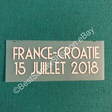 FIFA World Cup Russia 2018 - Final Game info patch for France jerseys