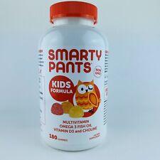1 Smarty Pants Kids Formula Complete Multi-Vitamin Omega 3 Fish Oil 180 Gummies
